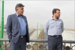 بازدید از تقاطع غیر همسطح شهیدان حجتی
