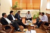 دیدار با مدیریت مخابرات شهرستان نجف آباد