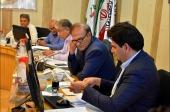 انتخاب هیئت رئیسه سومین سال شورای اسلامی دوره پنجم شهر نجف آباد