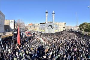 مراسم تشییع پیکر پاک و مطهر شهیدان مدافع وطن